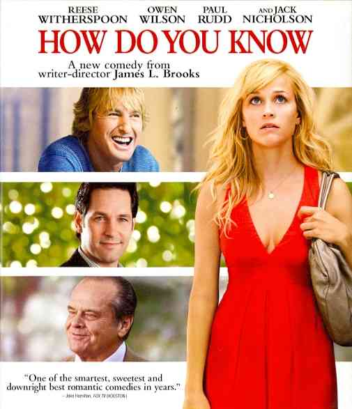 HOW DO YOU KNOW BY WITHERSPOON,REESE (Blu-Ray)